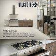 VALCUCINE - Meccanica by Valcucine: modular kitchen with a lightweight frame