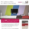 COVER-X FRANCE  - Adhesive films for interior decorations: renovate your spaces