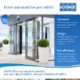 KONE - Porte automatiche KONE: sicurezza, design, eco-efficienza