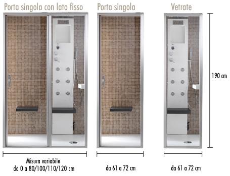 Tenere al caldo in casa doccia bagno turco hafro - Bagno turco prezzi ...