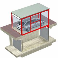Montauto con cabina per accesso a garage - CITYCUBE MONTAUTO CMC - UPDINAMIC
