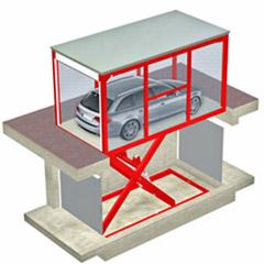 Montauto con cabina per accesso a garage - CITYCUBE MONTAUTO CMF - UPDINAMIC