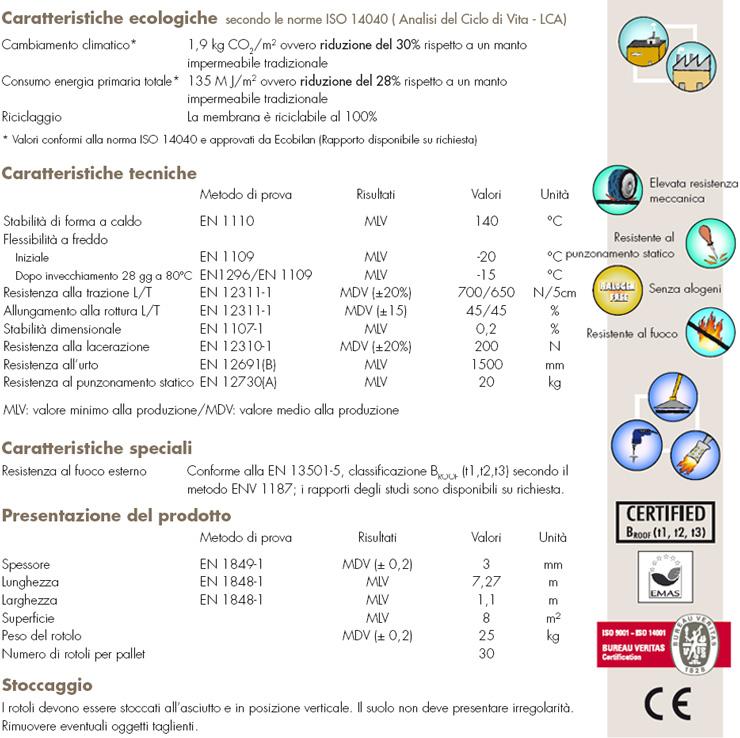 derbigum NT membrana impermeabile bituminosa