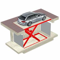 Montauto a piattaforma per auto e merci - DINAMIC LIFT DLF - UPDINAMIC