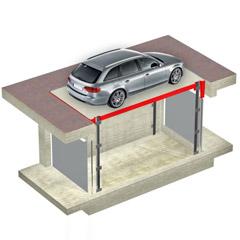 Montauto a piattaforma per auto e merci - DINAMIC LIFT DL4 - UPDINAMIC