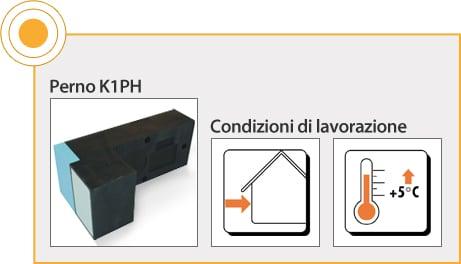 ELEMENTI DI FISSAGGIO RÖFIX - ELEMENTO DI SUPPORTO PER PERNI K1-PH