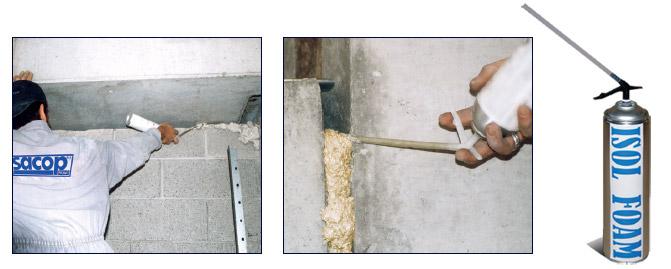 Mastice, schiuma e sigillante ignifugo - ISOL FOAM REI 180'