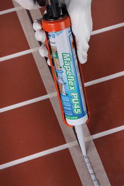 Sigillante poliuretanico mapeflex pu45 mapei - Giunti di dilatazione per pavimenti esterni ...