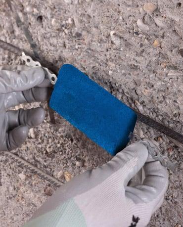 MAPESHIELD - Protezione catodica galvanica per impedire la corrosione dell'acciaio