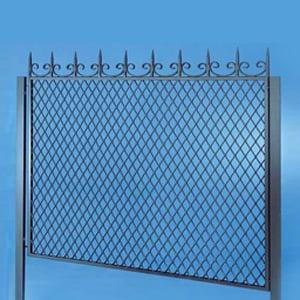 Reti metalliche per recinzioni padova terminali for Rete stirata per cancelli