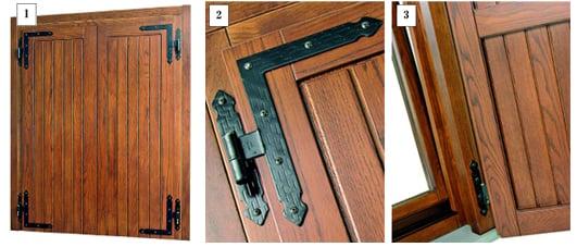 Sistemi oscuranti in legno chiusure esterne sidel - Cerniere per finestre in legno ...